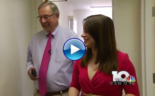 WSLS News Segment - Dr. Ron Webster