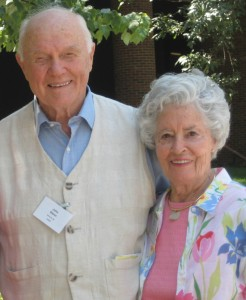 John and Annie Glenn at an HCRI alumni reunion