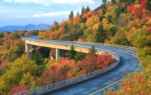 The Blue Ridge Parkway offers unforgettable views of long-range vistas, pastoral landscapes and mountainscapes.