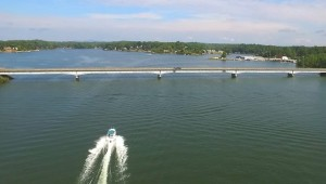 Smith Mountain Lake covers 20,600 acres and offers water activities and entertainment for all ages.